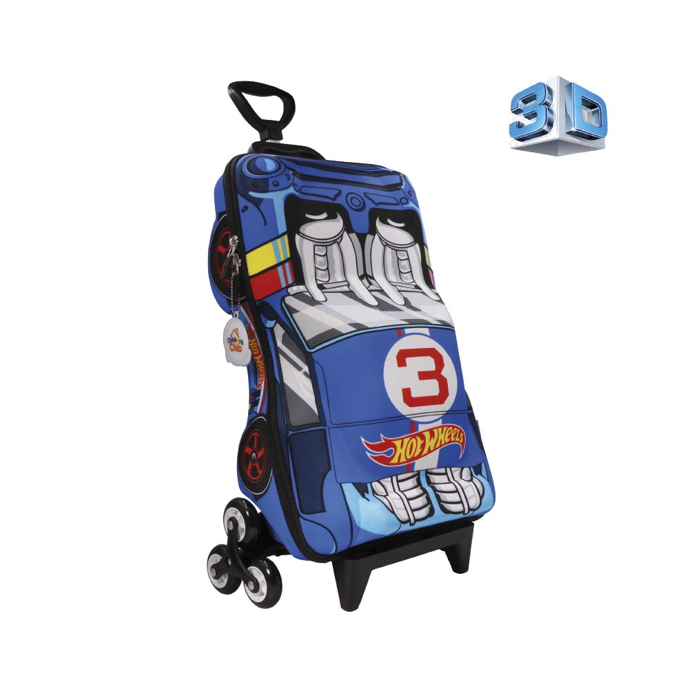 MALETA HOT WHEELS  6HTWEMA1D19 - NIÑO